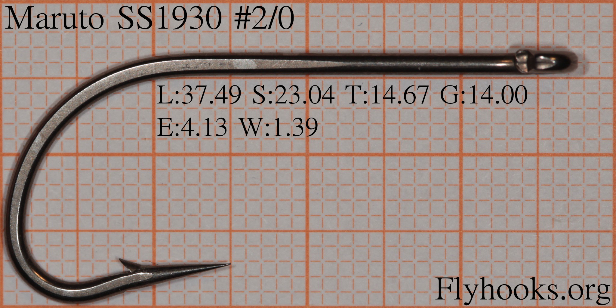 Flyhooks eye width 413 mm wire thickness 139 mm greentooth Image collections